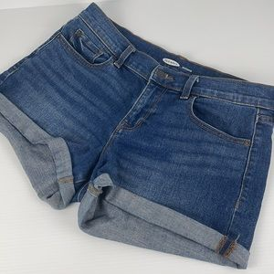 OLD NAVY Boyfriend Denim Pocket Shorts - Size 4
